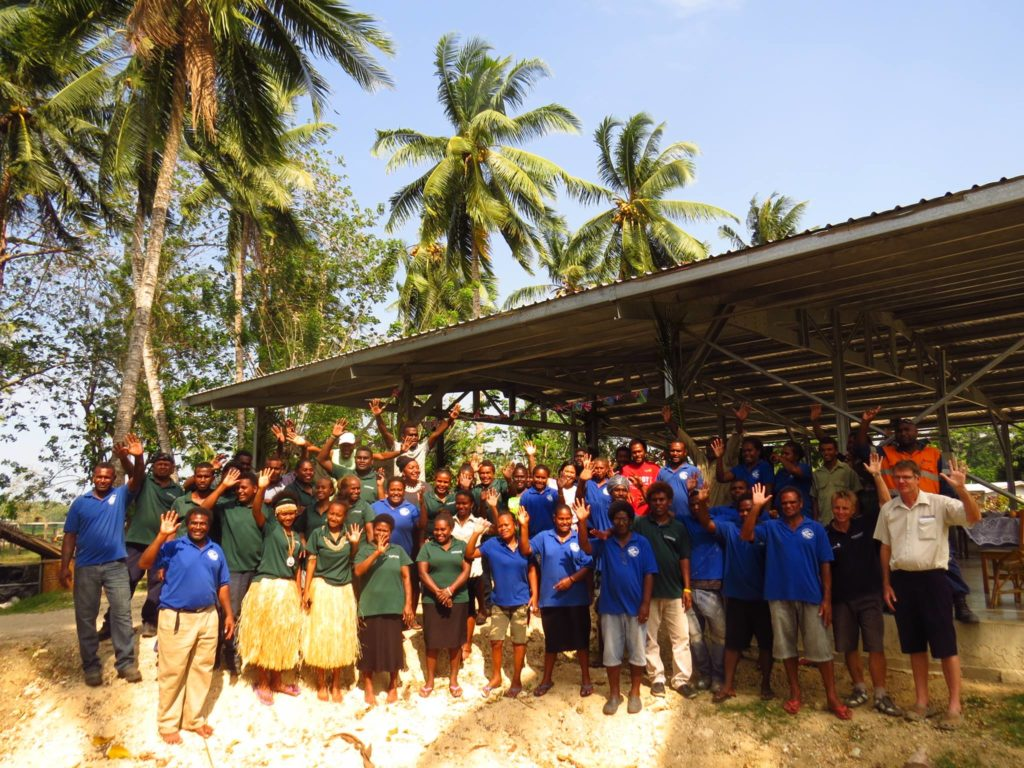 KPSI team in the Solomon Islands.