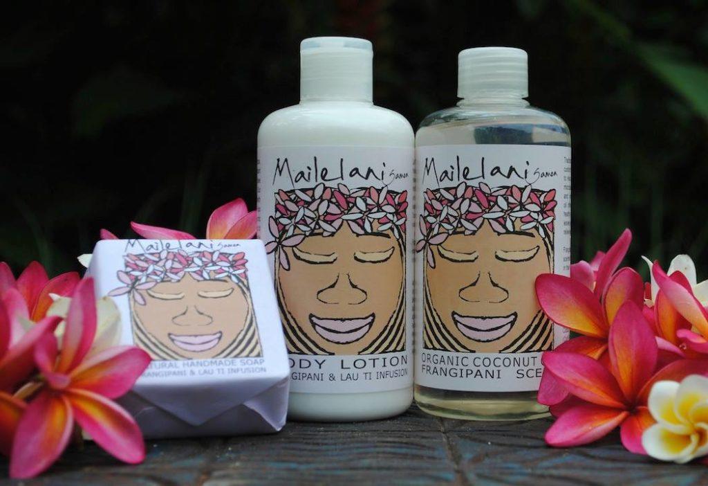 Mailelani Samoa products.
