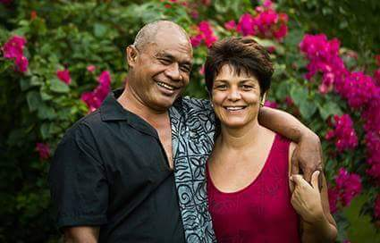 Kitiona and Sylvie Salanoa, Founders of Mailelani Samoa.