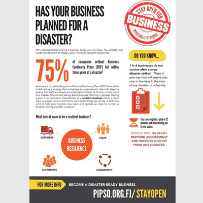 Has your business planned for a disaster?