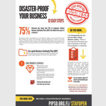 Disaster-proof your business. 12 easy steps.