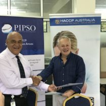 PIPSO sign MOU with HACCP Australia (Fiji) Ltd