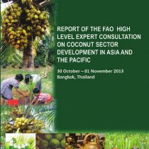 High Level Expert Consultation on Coconut Sector Development in Asia and the Pacific Region Presentation