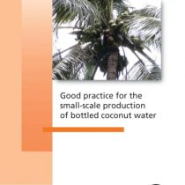 Good practice for the small-scale production of bottled coconut water